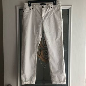 Max Jeans Off White Cropped Pants